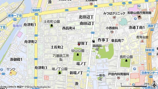 〒640-8282 和歌山県和歌山市出口甲賀丁の地図