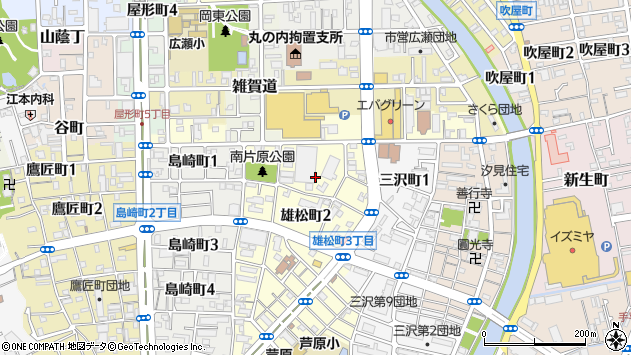 〒640-8124 和歌山県和歌山市雄松町の地図