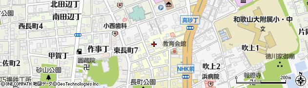 和歌山県和歌山市茶屋ノ丁周辺の地図