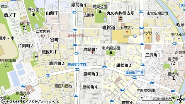 〒640-8125 和歌山県和歌山市島崎町の地図