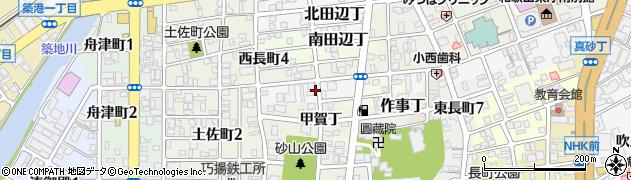 和歌山県和歌山市湊通丁南周辺の地図
