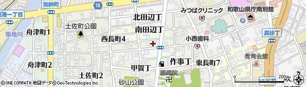 和歌山県和歌山市湊通丁北周辺の地図