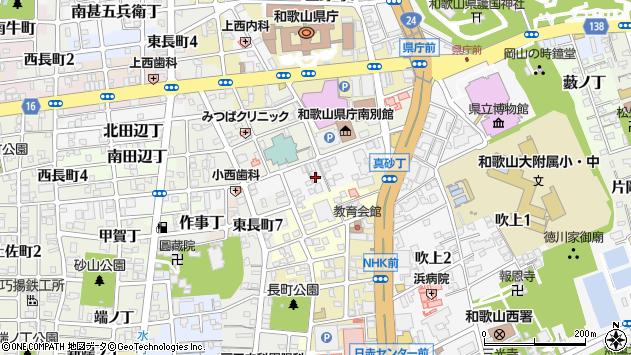 〒640-8281 和歌山県和歌山市湊通丁南の地図