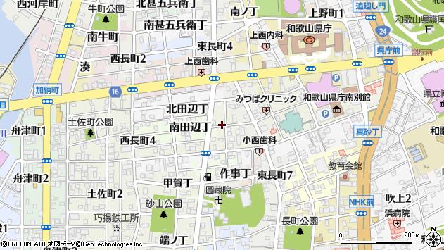 〒640-8253 和歌山県和歌山市北相生丁の地図