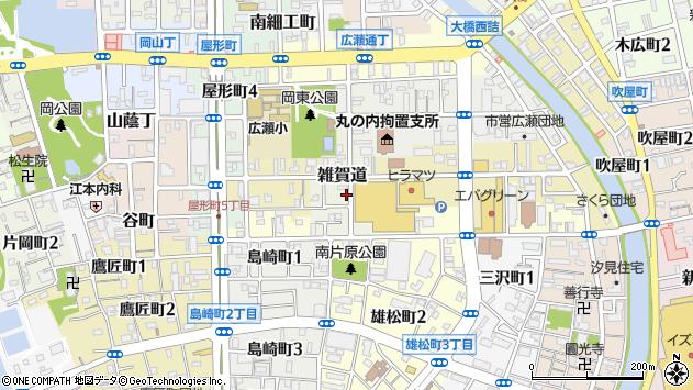 〒640-8121 和歌山県和歌山市雑賀道の地図