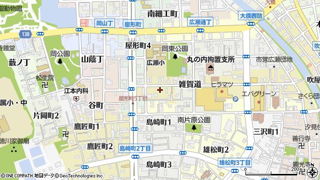 〒640-8127 和歌山県和歌山市元町奉行丁の地図