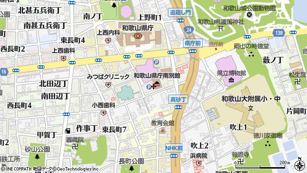 〒640-8262 和歌山県和歌山市湊通丁北の地図