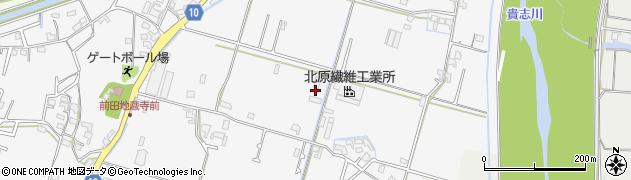 和歌山県紀の川市貴志川町前田周辺の地図