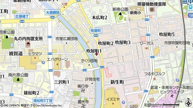 〒640-8324 和歌山県和歌山市吹屋町の地図