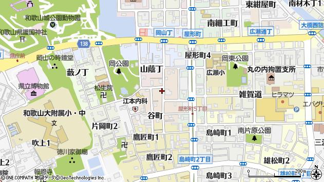 〒640-8131 和歌山県和歌山市弁財天丁の地図