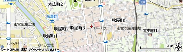 和歌山県和歌山市吹屋町周辺の地図