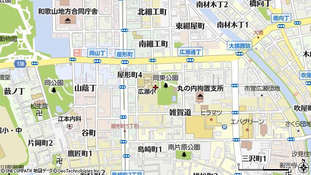 〒640-8128 和歌山県和歌山市広瀬中ノ丁の地図