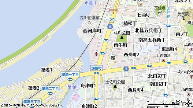 〒640-8288 和歌山県和歌山市加納町の地図