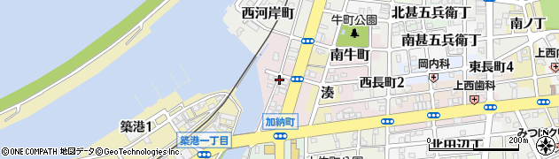 和歌山県和歌山市加納町周辺の地図