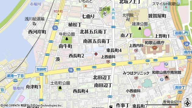 〒640-8293 和歌山県和歌山市駕町の地図