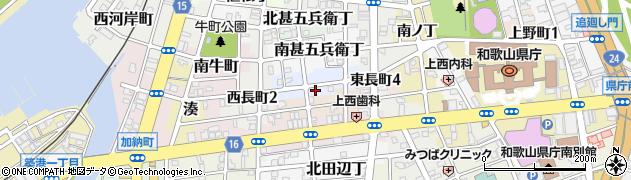 和歌山県和歌山市駕町周辺の地図
