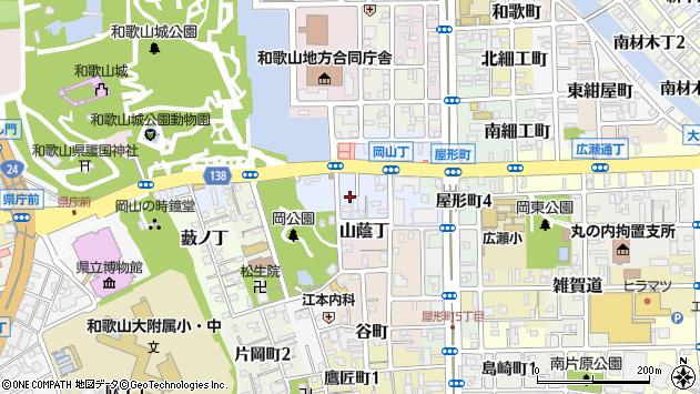 〒640-8145 和歌山県和歌山市岡山丁の地図