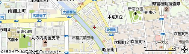 和歌山県和歌山市新留丁周辺の地図