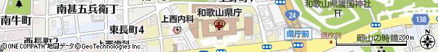 和歌山県周辺の地図
