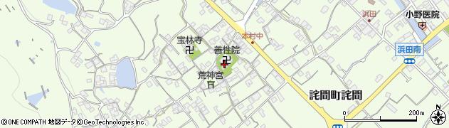 善性院周辺の地図