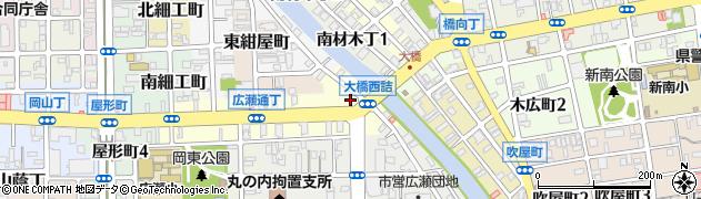 和歌山県和歌山市広瀬通丁周辺の地図