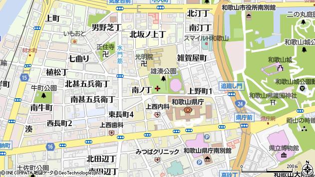 〒640-8248 和歌山県和歌山市有田屋町の地図