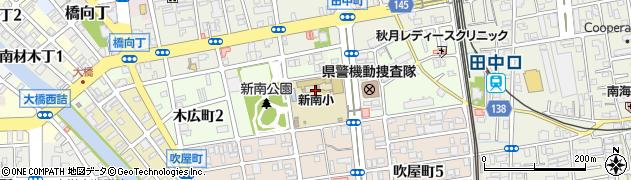 和歌山県和歌山市木広町周辺の地図
