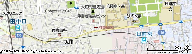 和歌山県和歌山市太田周辺の地図