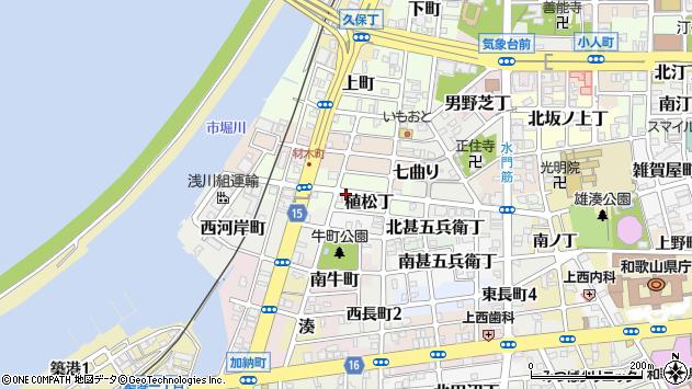 〒640-8298 和歌山県和歌山市植松丁の地図