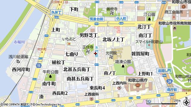 〒640-8234 和歌山県和歌山市西坂ノ上丁の地図