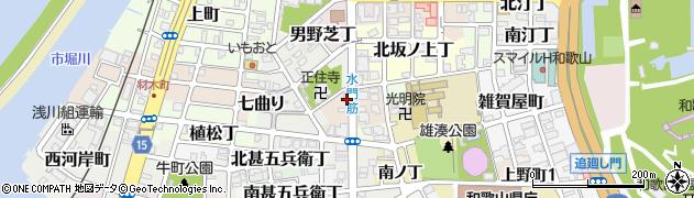 和歌山県和歌山市西坂ノ上丁周辺の地図