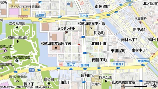 〒640-8144 和歌山県和歌山市四番丁の地図