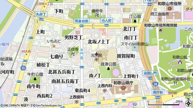 〒640-8247 和歌山県和歌山市東坂ノ上丁の地図