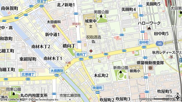 〒640-8329 和歌山県和歌山市田中町の地図