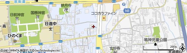 和歌山県和歌山市秋月周辺の地図