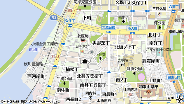 〒640-8235 和歌山県和歌山市東長町の地図