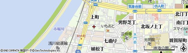 和歌山県和歌山市網屋町周辺の地図