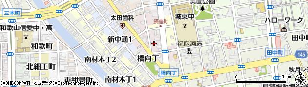 和歌山県和歌山市餌差町周辺の地図