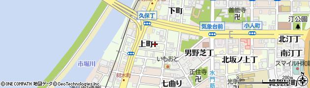 和歌山県和歌山市上町周辺の地図