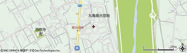 香川県丸亀市垂水町周辺の地図