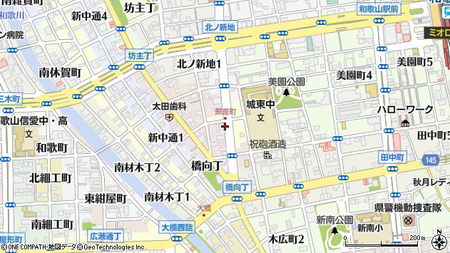 〒640-8333 和歌山県和歌山市蔵小路の地図