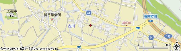 香川県高松市香南町岡周辺の地図
