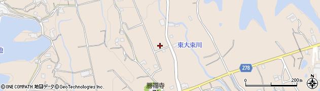 香川県丸亀市綾歌町栗熊東岡部周辺の地図