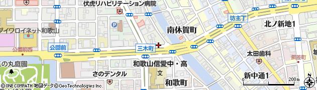 和歌山県和歌山市三木町(南ノ丁)周辺の地図