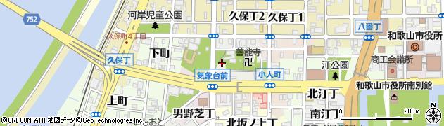 和歌山県和歌山市道場町周辺の地図