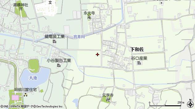 〒649-6325 和歌山県和歌山市下和佐の地図