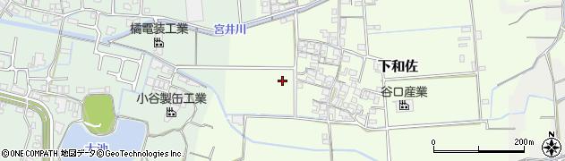 和歌山県和歌山市下和佐周辺の地図