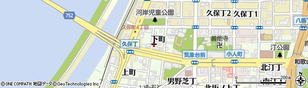 和歌山県和歌山市下町周辺の地図