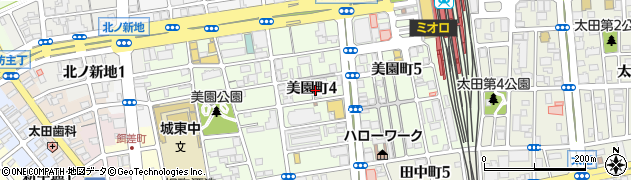 和歌山県和歌山市美園町周辺の地図