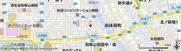 和歌山県和歌山市三木町(中ノ丁)周辺の地図
